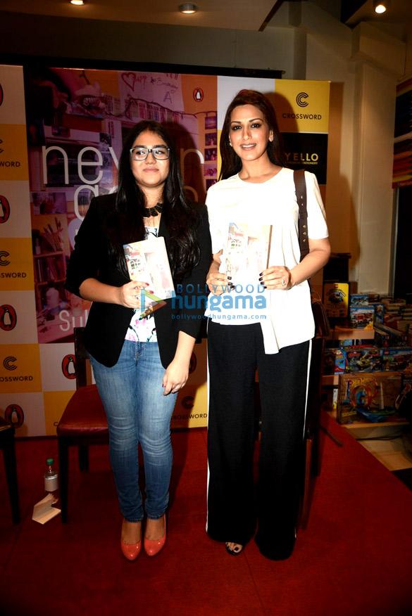 Sonali Bendre unveils Anusha Subramaniam's book Never Gone