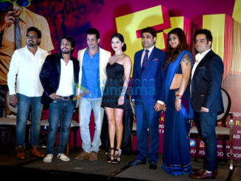 Sunny Leone & Sharman Joshi unveil a song from 'Fuddu'
