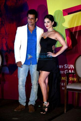 Sunny Leone & Sharman Joshi unveil a song from 'Fuddu'