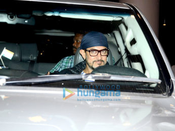 Aamir Khan snapped as he arrives back from USA