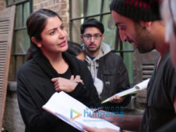 On The Sets Of The Movie Ae Dil Hai Mushkil