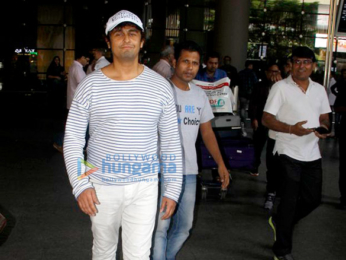 Ajay Devgn, Abhishek Bachchan and Alia Bhatt snapped at the airport