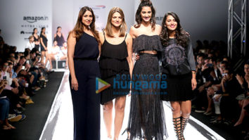 Celebrities at the 'Amazon India Fashion Week Spring/Summer 2017'