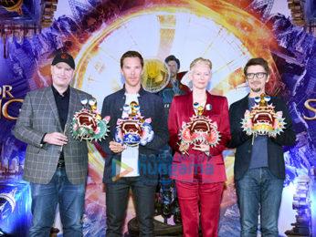Benedict Cumberbatch, Tilda Swinton, Scott Derrickson and Kevin Feige grace the red carpet launch of Marvel's Doctor Strange in Hong Kong