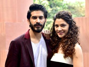 Cast of 'Mirzya' promote the film in Delhi