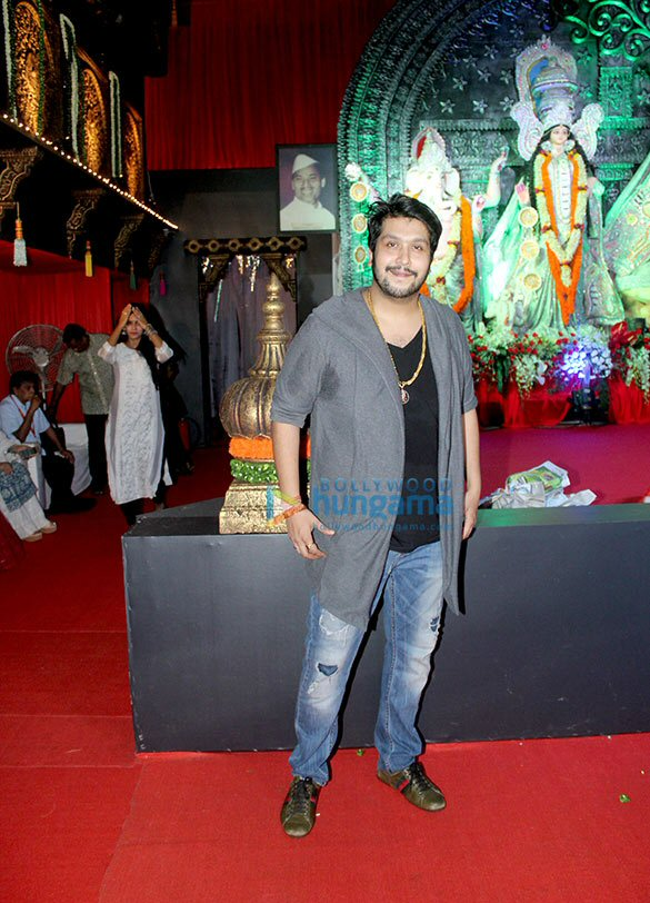 Celebs at the 'North Bombay Sarbojanin Durga Pooja Samiti 2016'