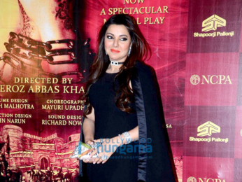 Celebs attend the premiere of Mughal-E-Azam, a musical play