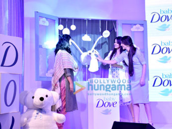 Genelia Dsouza and Tara Sharma attend the launch of Baby Dove in India