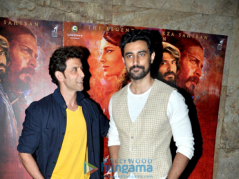 Hrithik Roshan, Jacqueline Fernandez and others grace the screening of 'Mirzya'