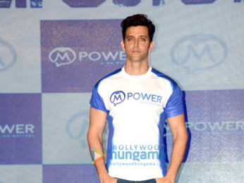 Hrithik Roshan at 'Mpower #EverydayHeroes' campaign launch in Mumbai