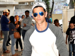 Hrithik Roshan snapped with his kids post 'Inferno' screening