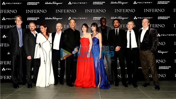Irrfan Khan attends the world premiere of Inferno