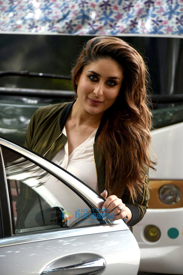 Kareena Kapoor Khan snapped post Grazia magazine shoot