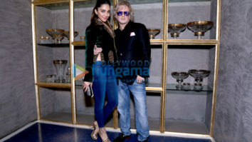 Kiara Advani and Rohit Bal unveil Crystal in Mumbai