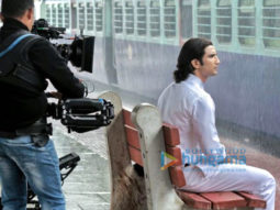 On The Sets Of The Movie M.S. Dhoni - The Untold Story