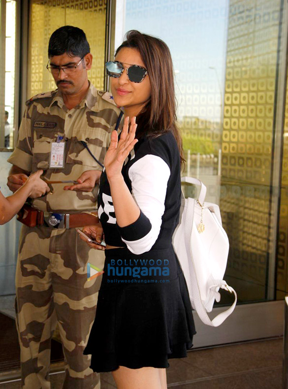Parineeti Chopra & Ayushmann Khurrana depart for 'Meri Pyaari Bindu' shoot in Goa
