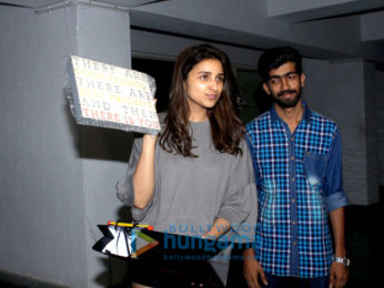 Parineeti Chopra cuts her birthday cake with fans