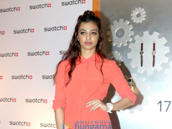 Radhika Apte graces the opening of the Swatch store