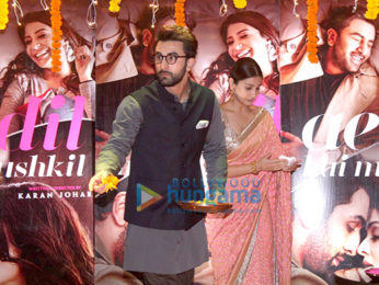 Ranbir Kapoor and Anushka Sharma celebrate Diwali