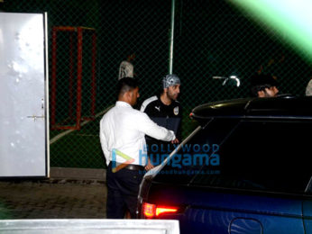 Ranbir Kapoor & Armaan Jain snapped during football practice