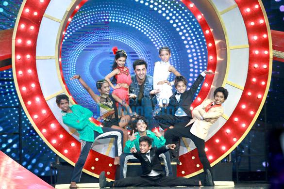 Ranbir Kapoor promotes 'Ae Dil Hai Mushkil' on the set of Super Dancer