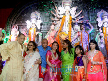 Rani Mukerji & Kajol grace the Durga Puja Navratri celebrations in Juhu