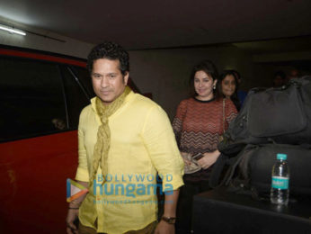 Sachin Tendulkar graces a special screening of 'Mirzya'