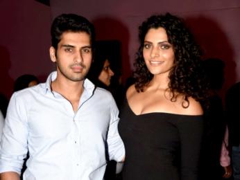 Saiyami Kher & Disha Patani at the launch of Jaguar F-Pace