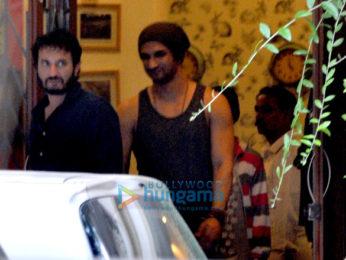 Sushant Singh Rajput snapped at Takadum movie rehearsals