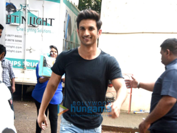 Sushant Singh Rajput shoots for Zoom Star of the day