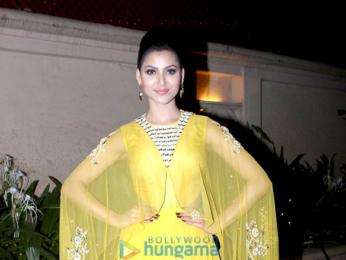 Urvashi Rautela snapped during Diwali celebration