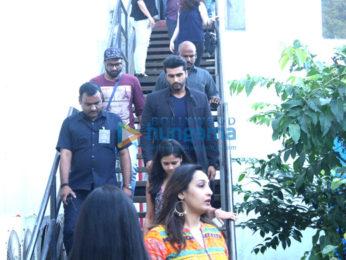 Varun Dhawan & Arjun Kapoor on the sets of 'Yaaron Ki Baraat'