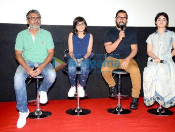 Aamir Khan at the song launch of 'Haanikaarak Bapu' from 'Dangal'