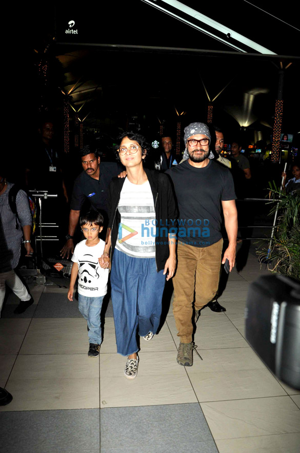Aamir Khan & family returns from holidays in North East India