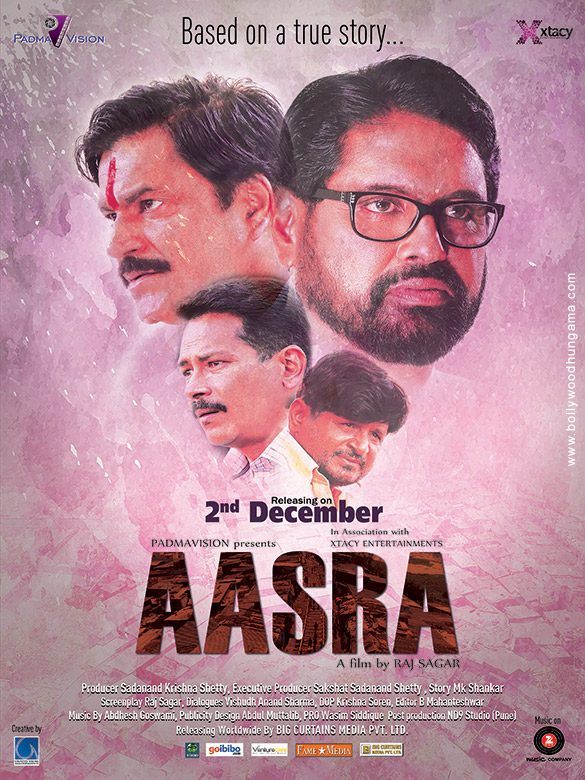 First Look Of The Movie Aasra