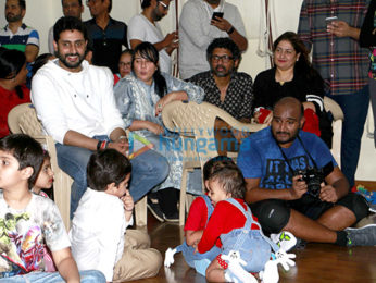 Abhishek Bachchan snapped at 'Strut Dancemakers Master Class' in Andheri