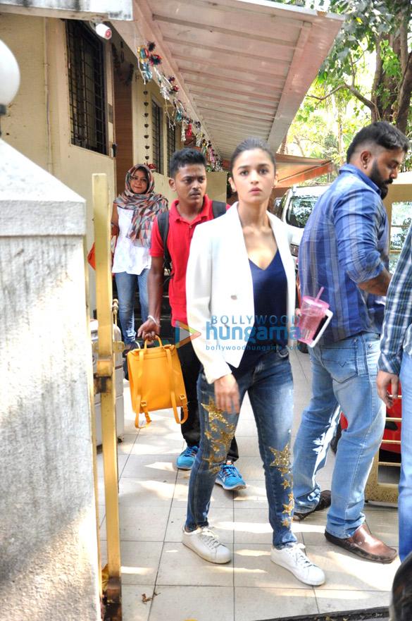 Alia Bhatt snapped in Bandra