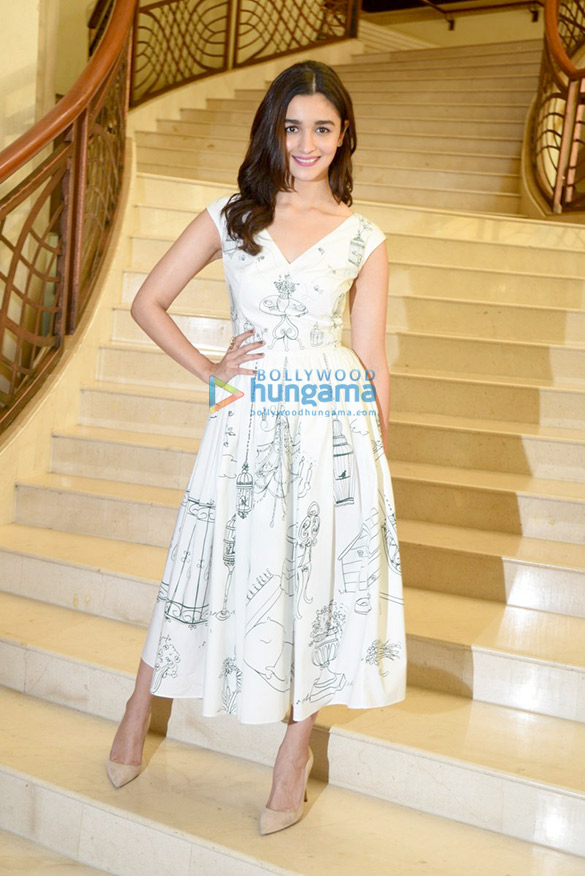 Alia Bhatt at the press conference of Singapore Tourism Board