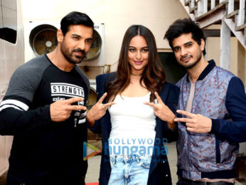 Cast of 'Force 2' spotted at Mehboob Studio in Bandra