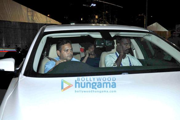 Farhan Akhtar and Shah Rukh Khan snapped at Global Citizen rehersals
