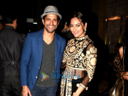 Farhan Akhtar & Sonakshi Sinha grace Ash Chandler's Jazz musical show at 'Luna Nudo Gusta'