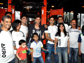 Hrithik Roshan graces his personal trainer's Gym launch