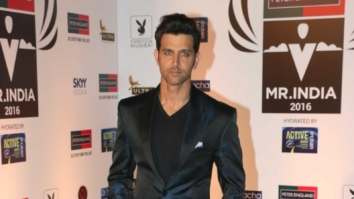 Hrithik Roshan As Guest Of Honour At The Red Carpet Of Mr. India Pageant 2016