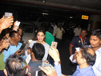 Jacqueline Fernandez & Ranveer Singh snapped at the airport