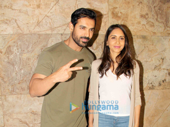 John Abraham, Priya Runchal, Varun Dhawan & Sonakshi Sinha grace the special screening of 'Force 2