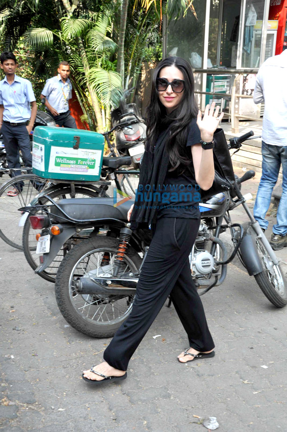Karisma Kapoor snapped shopping in Bandra