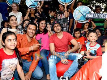 Kartik Aaryan graces the screening of 'Pyaar Ka Punchnama 2' at Balllard Estate festival