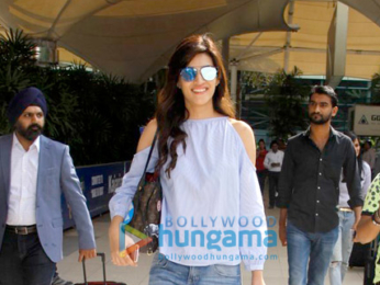 Kriti Sanon, Prabhu Dheva and others snapped at the airport