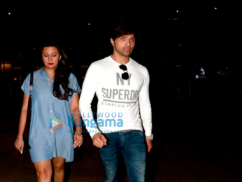 Parineeti Chopra, Amy Jackson and Himesh Reshammiya snapped at the airport