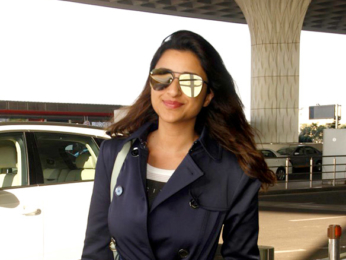 Parineeti Chopra, Varun Dhawan & Vidya Balan snapped at the airport
